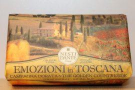 Nesti Dante - Emozioni in Toscana - aranyló rét naturszappan 250 gr