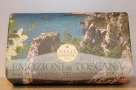 Nesti Dante - Emozioni in Toscana - mediterrán érintés naturszappan 250 gr