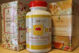 Tisztítókúra gyógynövényekkel, C vitaminnal