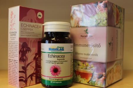 Echinacea kúra gyógynövényekkel