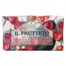 Nesti Dante IL FRUTTETO  Amarena- ( fekete cseresznye/pirosgyümölcs ) natúrszappan 250 gr