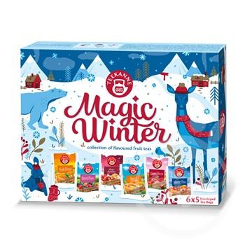 TEEKANNE- Magic Winter teaválogatás  30 tasak