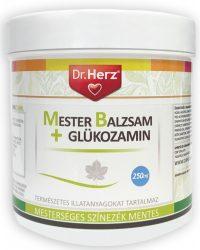 DR.HERZ Mester Balzsam + Glükozamin 250 ml