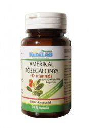 NUTRILAB Amerikai tőzegáfonya + D mannóz - 30 db kapszula