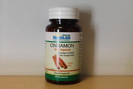 NUTRILAB - Cinnamon-fahéj kapszula 60 db