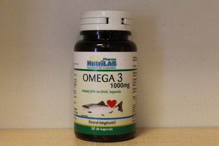 NUTRILAB - Omega3 1000 mg 30 db