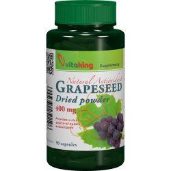 VITAKING- Grapeseed ( szőlőmag őrlemény ) 400 mg- 90 kapszula