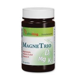 VITAKING MagneTrio (Mg + D3 +K2)- 30 kapszula