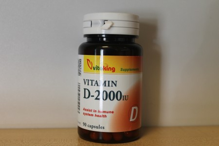 VITAKING - D vitamin 2000 NE 90 db