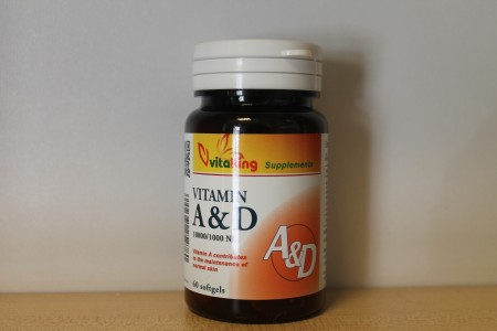 VITAKING - A & D vitamin 60 db