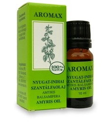 AROMAX Szantálfa (nyugat-indiai) (Amyris balsamifera) illóolaj 10 ml