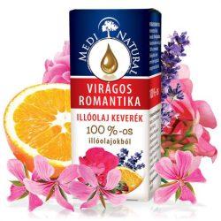 MEDINATURAL- Virágos romantika 100% illóolajkeverék 10 ml