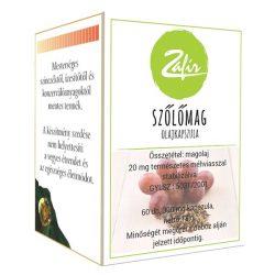 Zafír Szőlőmag olajkapszula- 60 db