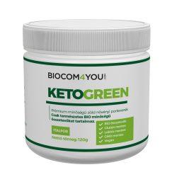 KetoGreen növényi por tégelyes 120 gramm