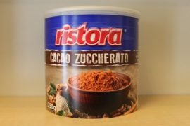 RISTORA instant cukrozott kakaópor 250 gr