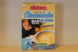 RISTORA - instant fehér forró csokoládé por 5x23 gr