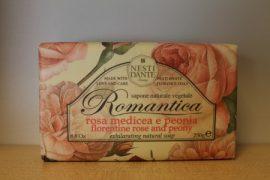 Nesti Dante - ROMANTICA -firenzei és pünkösdi rózsa naturszappan 250 gr