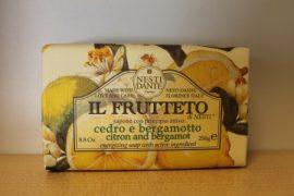 Nesti Dante - IL FRUTTETO - naturszappan, citrom, bergamot 250 gr