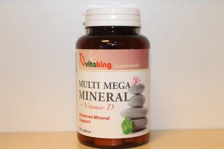 VITAKING - Multi Mega Mineral+ VitaminD 90 tabletta