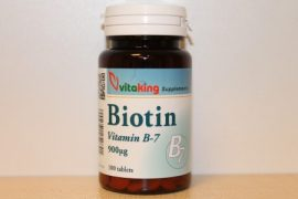 VITAKING - Biotin (B-7) vitamin 100 tabletta