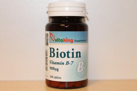VITAKING - Biotin (B-7) vitamin 100 tabletta